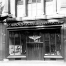 Photo:Scandonavian Airlines System, 185 Regent Street, 1952