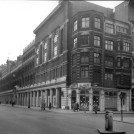 Photo:105-115 Victoria Street, including the Army and Navy Stores and the junction with Francis Street, 1954