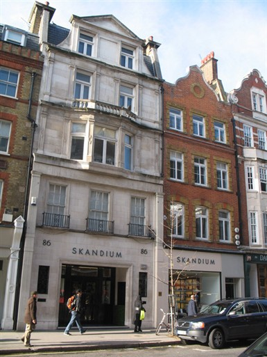 Photo:Skandium, 85-86 Marylebone High Street in 2010. Photograph by Adrian Autton