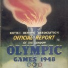 Photo:Front cover of Official Report on 1948 London Olympics
