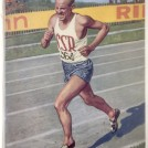 Photo:Image of Emil Zatopoek of Czechoslovakia winner of 10,000m at 1948 London Olympics from Official Report
