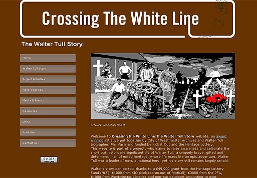 Photo: Illustrative image for the 'Crossing the White Line' page